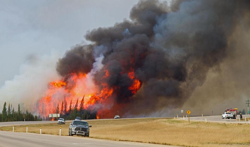 Fort McMurray fire Mark Robinson