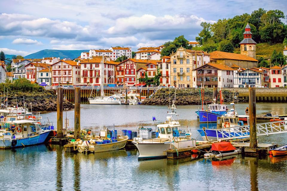 <p><strong>Population:</strong> 14,133</p> <p>Saint-Jean-de-Luz has everything you would hope to find in a Basque Country village: half-timbered houses, golden beaches, excellent seafood restaurants, and a harbor lined with colorful boats. Spend the afternoon at one of the town's charming corner cafes, croissant in hand as you watch the elegant locals stroll by.</p>
