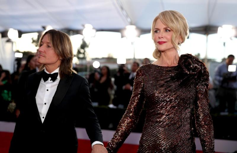 Keith Urban has reportedly giveb wife Nicole Kidman an ultimatum. The pair are pictured here together in January at the SAG Awards. Source: Getty
