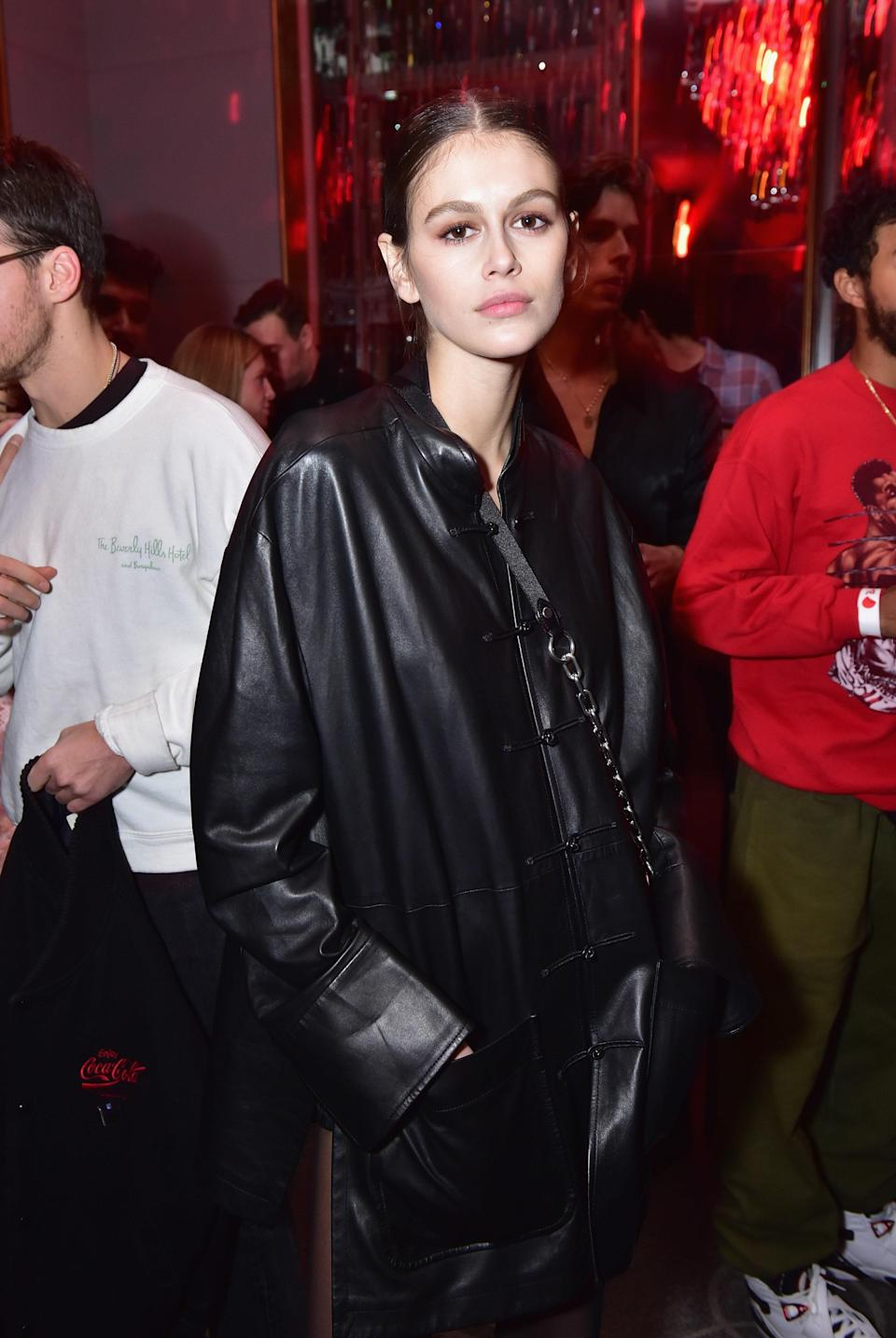You can rock leather coats to the function too.