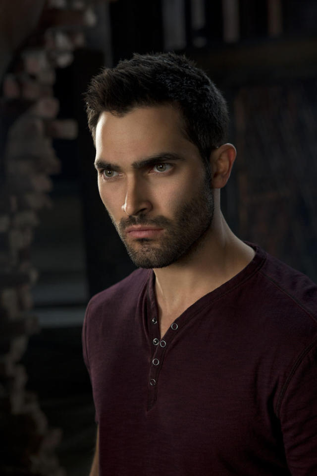 "Derek (Tyler Hoechlin) in MTV's ""Teen Wolf"" Season 3."