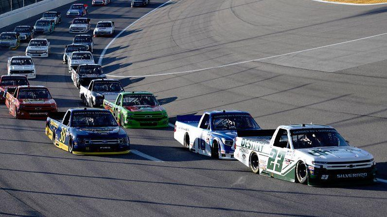 Friday night Truck race results from Kansas