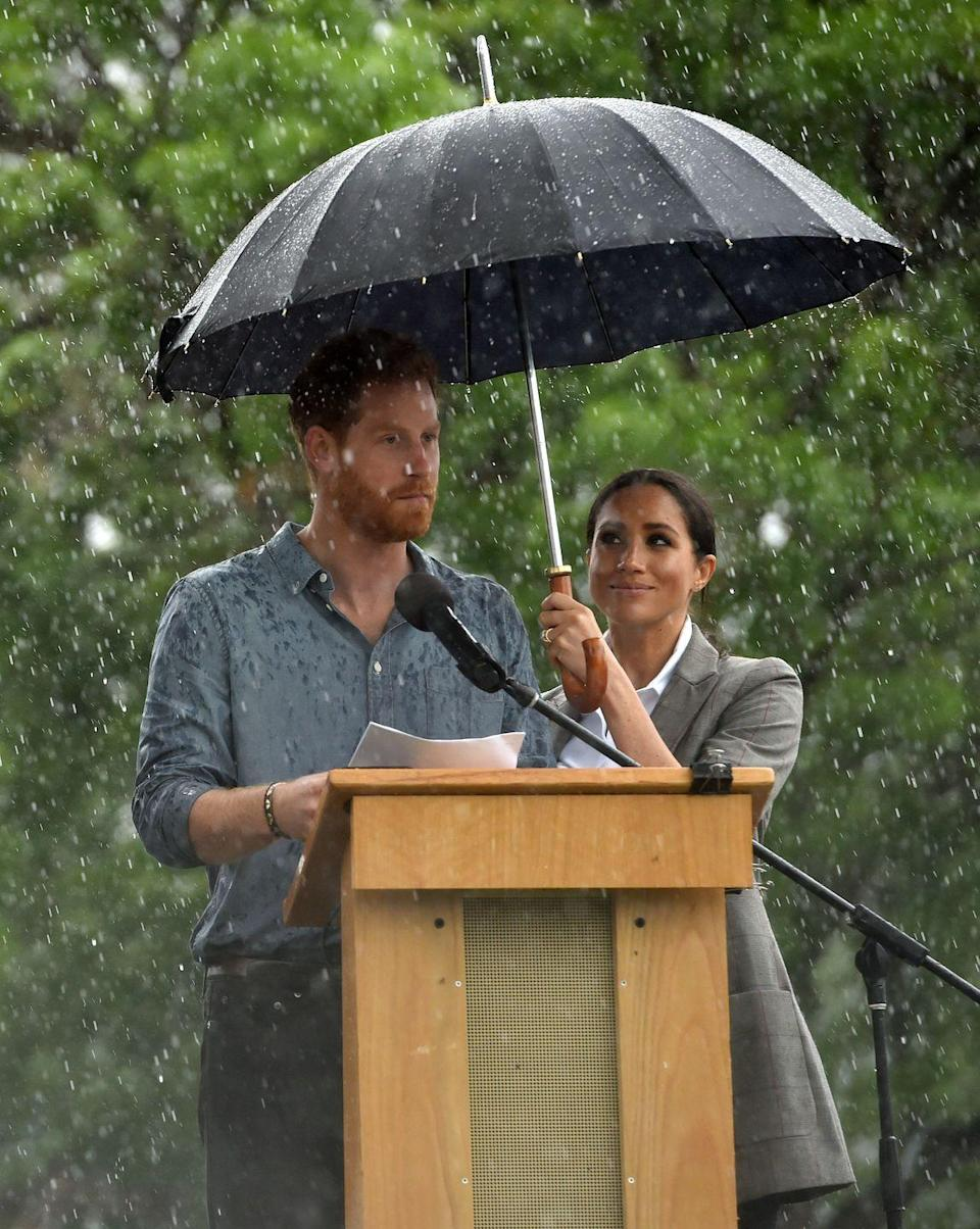 "<p>Harry is very vocal about his mental health struggles — particularly what he went through after his mother died. He, William, and Kate created <a href=""https://www.goodhousekeeping.com/uk/news/a568249/prince-harry-counselling-following-diana-death/"" rel=""nofollow noopener"" target=""_blank"" data-ylk=""slk:Heads Together"" class=""link rapid-noclick-resp"">Heads Together</a> with Diana in mind, which is an organization that tries to destigmatize the conversation around mental health struggles.</p>"
