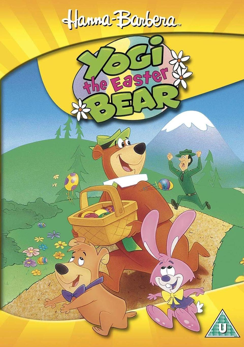 """<p>Starring the classic Hanna-Barbera character, this animated flick follows Yogi the Bear as he causes mayhem for Ranger Smith during the Jellystone Park's Easter Jamboree.</p><p><a class=""""link rapid-noclick-resp"""" href=""""https://www.amazon.com/gp/video/detail/amzn1.dv.gti.96a9f728-6dae-36f0-9869-f82fa4ab59c6?tag=syn-yahoo-20&ascsubtag=%5Bartid%7C10070.g.16643651%5Bsrc%7Cyahoo-us"""" rel=""""nofollow noopener"""" target=""""_blank"""" data-ylk=""""slk:STREAM NOW"""">STREAM NOW </a></p>"""