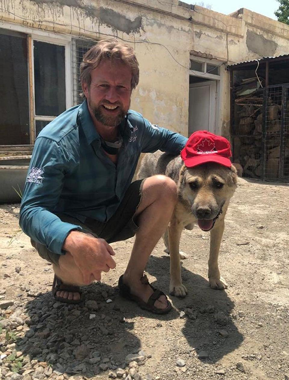 His Operation Ark campaign has worked to evacuate animals from Afghanistan (Nowzad/PA) (PA Media)