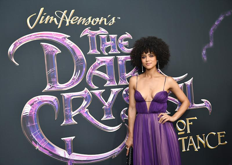 """NEW YORK, NEW YORK - AUGUST 27: Nathalie Emmanuel attends """"The Dark Crystal: Age of Resistance"""" New York Premiere at Museum of the Moving Image on August 27, 2019 in New York City. (Photo by Dimitrios Kambouris/Getty Images)"""