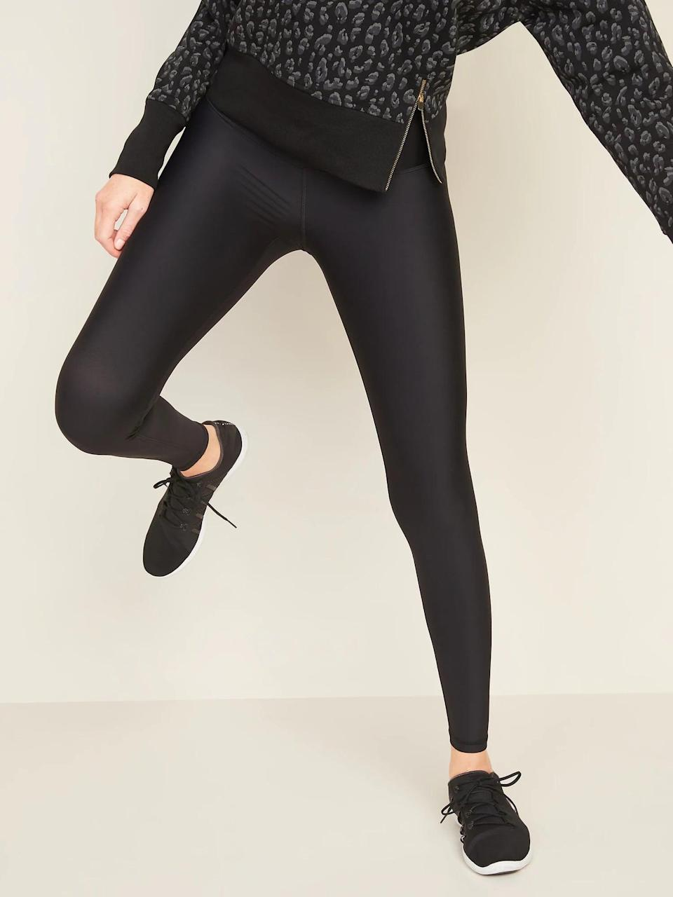 <p>Believe it or not, these <span>High-Waisted Hidden-Pocket Leggings for Women</span> ($20-$40, originally $40) aren't solid black - but they're close!</p>