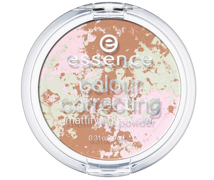"<strong>What it does: </strong>Subtly neutralizes redness, brightens dullness, and gives skin a subtle glow, all at once.  <strong>How to use it: </strong>With a big, fluffy brush, swirl this finishing powder over your foundation (or tinted moisturizer) for a matte, velvet finish.  <strong>Best for: </strong>Fair, medium, and medium-to-dark skin tones  Essence Colour Correcting Powder Beautiful Finish, $3.99; at <a rel=""nofollow"" href=""http://www.target.com/p/essence-colour-correcting-powder-beautiful-finish-0-32-oz/-/A-51097833"" rel="""">Target</a>"