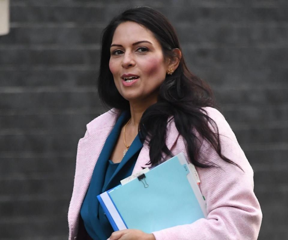 <strong>Home Secretary Priti Patel </strong> (Photo: PA)