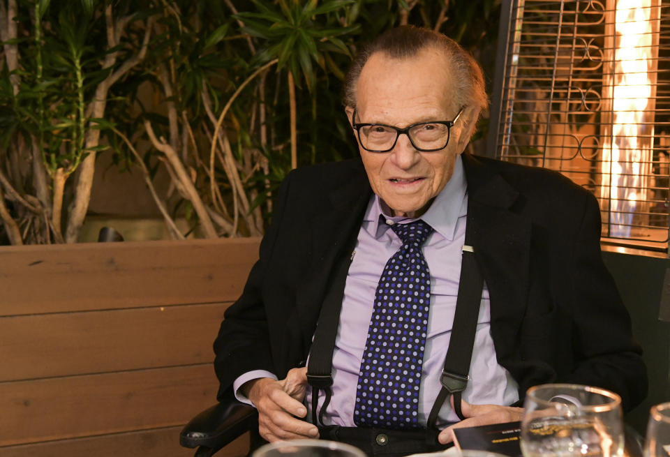 Larry King's interview with Jerry Seinfeld is going viral after his death. (Photo: Rodin Eckenroth/Getty Images)