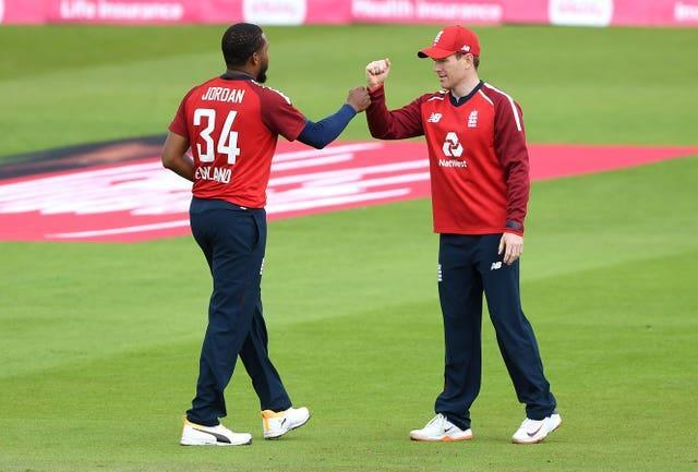 Jordan has become one of Eoin Morgan's most trusted lieutenants.
