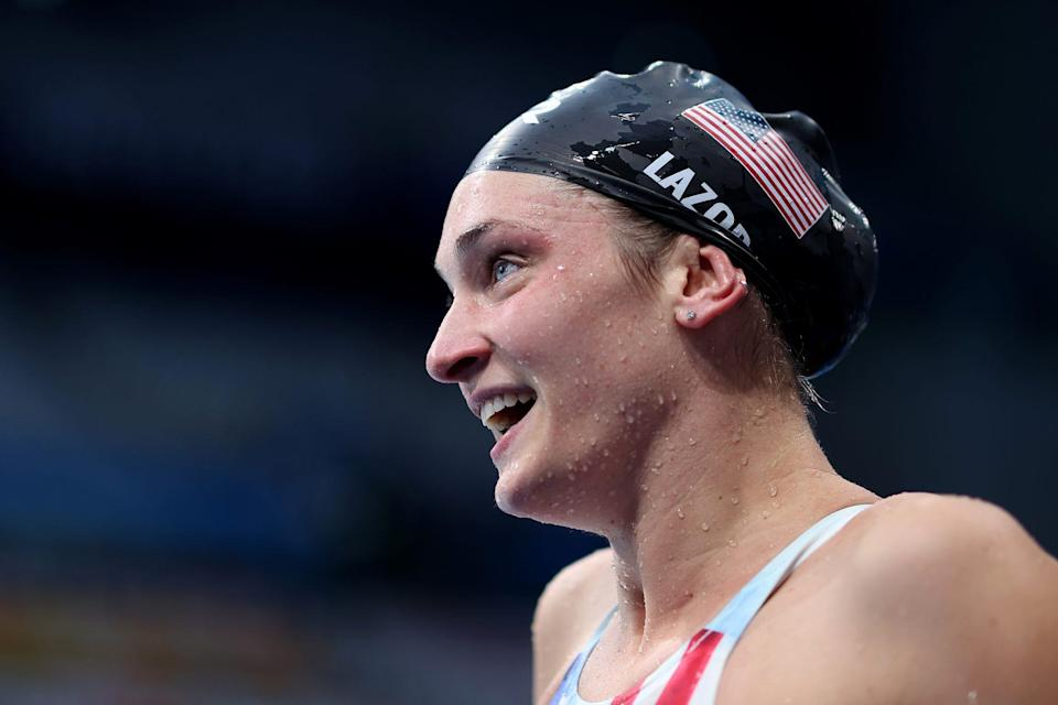 """<p>Biography: 26 years old</p> <p>Event: Women's 200m breaststroke (swimming)</p> <p>Quote: """"If you told me four years ago when I came back to the sport that I'd be an Olympic medalist, I think everyone, myself included, would have called you pretty crazy including my coach and my teammates. So I'm just happy to be here.""""</p>"""