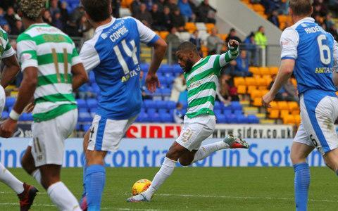 Celtic on Saturday surpassed the century-old UK record for successive unbeaten domestic matches when they extended their sequence to 63 games with a straightforward victory over St Johnstone in Perth, where Scott Sinclair set them on their way to a 4-0 win. By a quixotic twist of fortune, the record that was set against St Johnstone got under way in the aftermath of a 2-1 defeat at McDiarmid Park on May 11, 2016 when Ronny Deila was still in charge in the east end of Glasgow. The Celtic management team have consistently asserted that the accumulation of unbeaten outings has not featured in team talks, but its significance was underlined on this occasion by the selection of the same players who started in Tuesday's match against Bayern Munich in the Champions League group stage meeting at Parkhead. Saints had no such comfort, having failed to score since their 2-1 home victory over Hamilton Academical on Sept 23. An unfortunate susceptibility to injury contributed to that melancholy record and the casualty list was again a factor, with Tommy Wright forced to operate without Murray Davidson and Brian Easton, while Michael O'Halloran was judged to have only sufficient fitness for a place on the bench. One of those restored to the home side was Steven MacLean, who was swiftly afforded two tantalising glimpses of goal because of hesitancy by Nir Bitton. The Israeli midfielder, acting once more as a stopgap central defender, was ambushed by the Saints striker on the edge of the Celtic box but managed to retrieve possession before damage could be inflicted. Bitton was fortunate again when he let a dropping ball bounce in front of him, but again MacLean was unable to take advantage. The St Johnstone forward nearly made amends with an audacious lob from 40 yards which almost caught Craig Gordon off his line, but the effort went just over the top. Celtic had not displayed much menace despite controlling 75 per cent of possession but they made the breakthrough with a corner ki