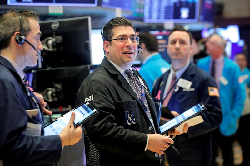 Dow closes down almost 800 points as reality of epidemic sinks in