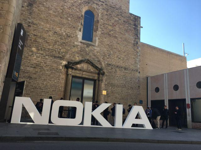 Nokia's MWC17 event, entrance