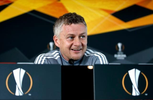 Ole Gunnar Solskjaer's United side have not been in action since thrashing LASK in a Europa League last 16 tie behind closed doors 10 weeks ago.