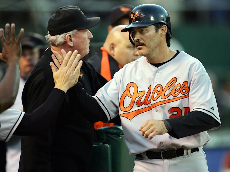 Rafael Palmeiro is ready to make a comeback. More