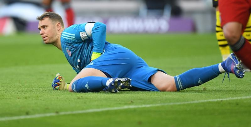 c8828d5e0 Bayern Munich goalkeeper Manuel Neuer says he hopes to return from injury  before the end of
