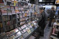 In Japan, in sharp contrast to global trends, some three-quarters of music sales are CDs or, to an increasing extent, vinyl (AFP Photo/Richard A. Brooks)
