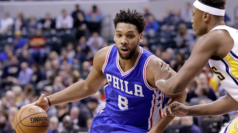 Sixers decline Jahlil Okafor's fourth-year option could still trade him before end of season