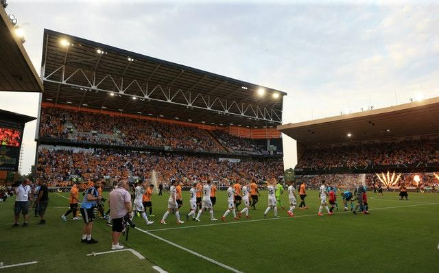 Wolves beat Northern Irish side Crusaders 2-0 in their Europa League qualifying clash last July.