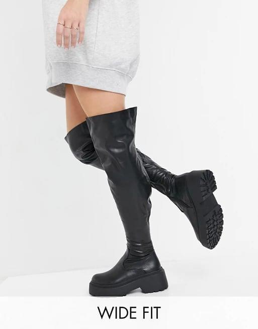 <p><span>Raid Wide Fit Paislee Over the Knee Boots</span> ($87)</p>
