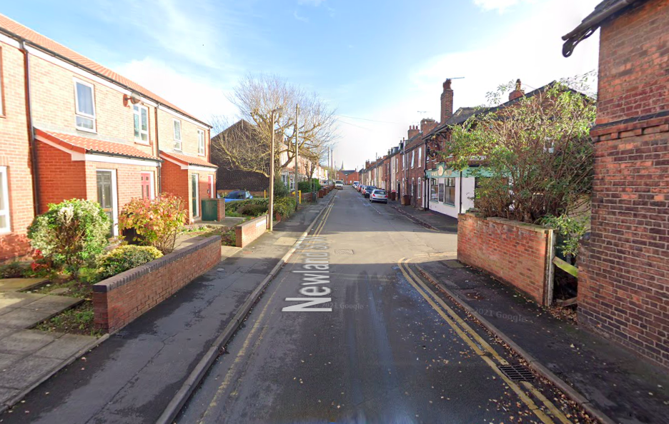 Some of the attacks took place on Newland Street West in Lincoln on Monday. (Google)