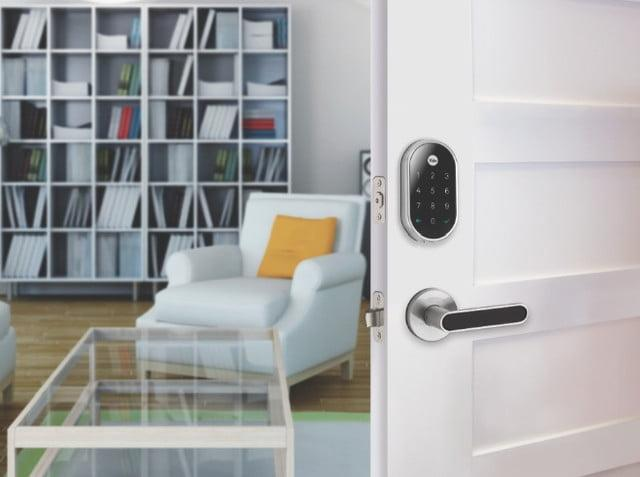 Control front door security from your phone with the Nest x Yale Lock