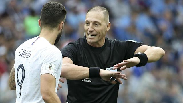 Having been officiated by Horacio Elizondo back in the 2006 final, France will once more see an Argentine take control of a World Cup decider