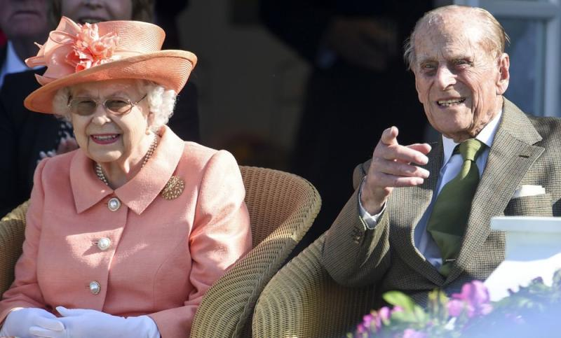 Queen Elizabeth and Prince Philip attend Royal Windsor Cup