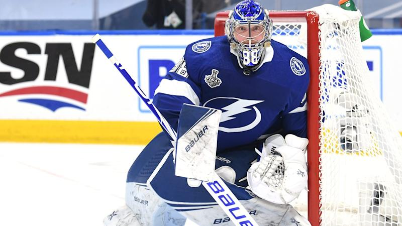 Lightning's Vasilevskiy standing tall in Stanley Cup Final