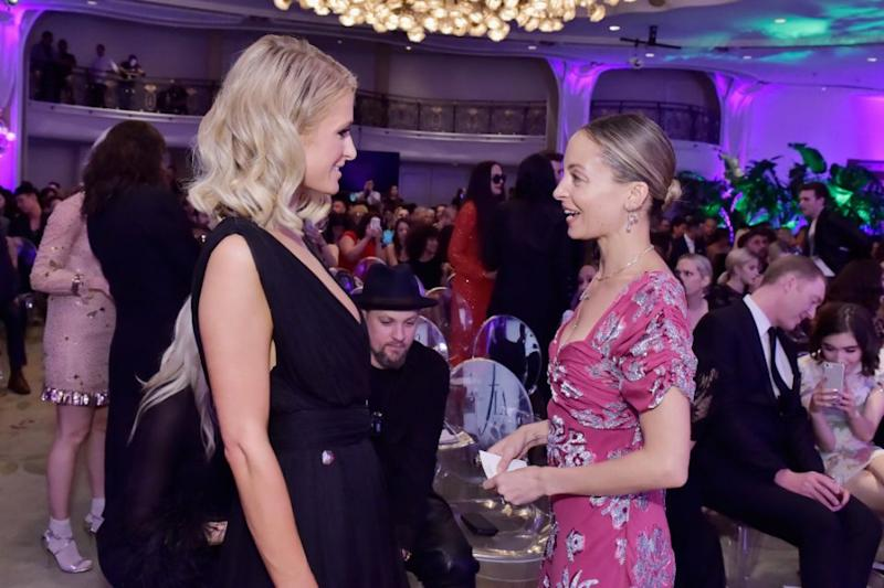 Paris Hilton and Nicole Richie recently reunited at The Daily Front Row's Fashion Los Angeles Awards and the Internet went into meltdown. Source: Getty