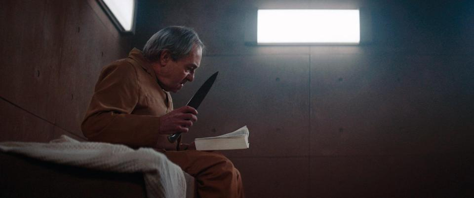 """<p>Another Spanish thriller, this time of the sci-fi variety, <strong>The Platform</strong> balances dark violence with scathing class commentary. It introduces us to a dystopian future where prisoners in higher cells are fed while those below starve with scraps.</p> <p><a href=""""http://www.netflix.com/title/81128579"""" class=""""link rapid-noclick-resp"""" rel=""""nofollow noopener"""" target=""""_blank"""" data-ylk=""""slk:Watch The Platform on Netflix now."""">Watch <strong>The Platform</strong> on Netflix now.</a></p>"""