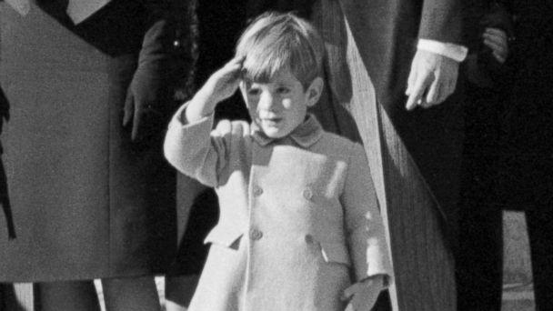 PHOTO: John F. Kennedy Jr. salutes as the casket of his father, the late President John F. Kennedy, is carried from St. Matthew's Cathedral in Washington, DC. (Bettmann Archive/Getty Images)