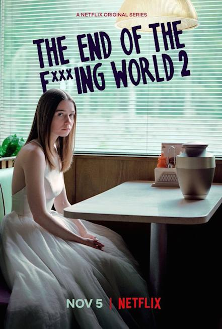 End of Fxxxing World Poster