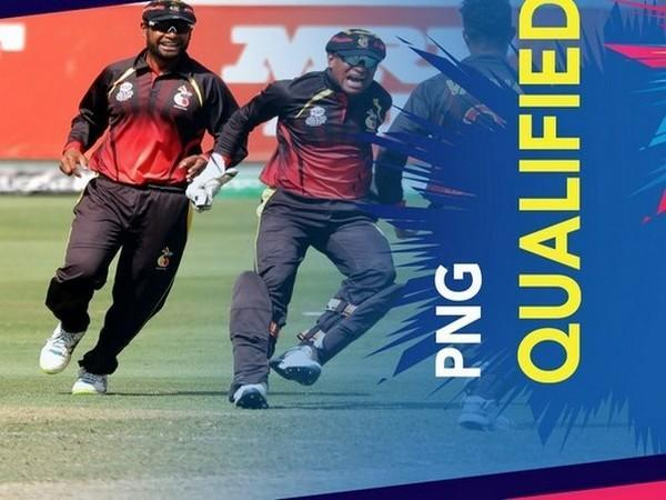 Team  Papua New Guinea (Photo/ T20 World Cup Twitter)