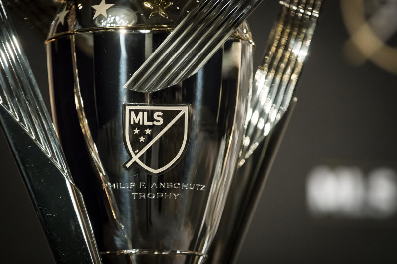 The coronavirus pandemic could postpone the 2020 MLS Cup until December. (Ira L. Black/Getty)