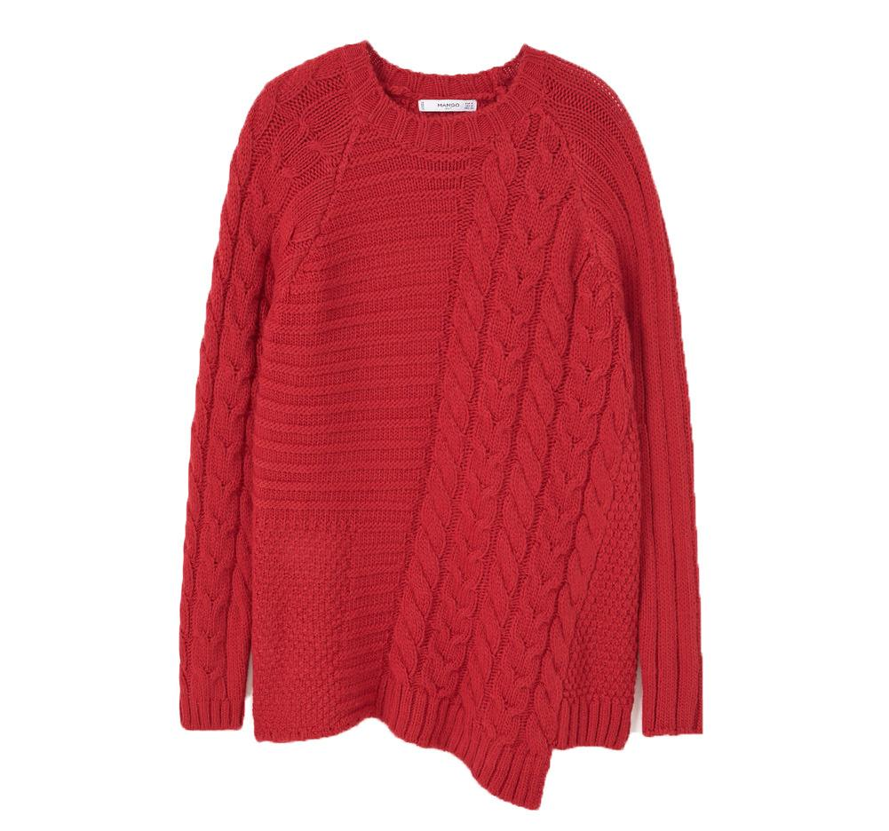 "<p><a href=""http://shop.mango.com/GB/p0/woman/clothing/cardigans-and-sweaters/sweaters/contrasting-knit-sweater?id=73007577_70&n=1&s=prendas.cardigans"">Mango</a>, £19.99</p>"
