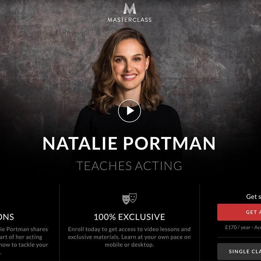 "From Natalie Portman to Bobbi Brown, <a href=""https://cna.st/affiliate-link/7GJfPKhaU328NsKwwJHG22CmKRc5kb92tMY5gFXkQ8DuSm9U48q8PGANjrLMGSiGjN3sxkMxrcsuVg?cid=5e9de165478f1300082f8b8e"" rel=""nofollow noopener"" target=""_blank"" data-ylk=""slk:MasterClass"" class=""link rapid-noclick-resp"">MasterClass</a> calls on the greats of every industry to break down expert instructions and insights. It's ideal for anyone looking to learn a new skill; classes include around 10 video lessons each and come with a workbook to follow along. $180, MasterClass. <a href=""https://www.masterclass.com/gift#"" rel=""nofollow noopener"" target=""_blank"" data-ylk=""slk:Get it now!"" class=""link rapid-noclick-resp"">Get it now!</a>"