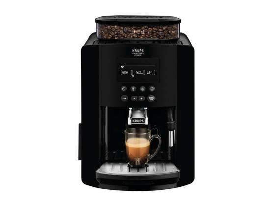 Coffee machines on the market vary from a few hundred pounds into the thousands, this affordable option from Krups is best for the budget-conscious (The Independent)