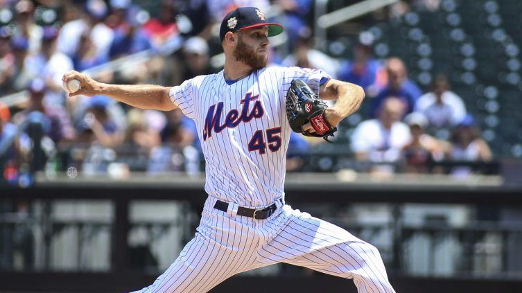 Yankees, Red Sox Interested in Mets Pitcher Zack Wheeler