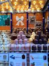 <p>The hot glühwein and orange chaud are delicious here, but don't forget the schokoküsse (chocolate-covered marshmallow treats).</p>