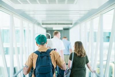 Passenger volumes at Ontario International Airport continue to show impressive gains.
