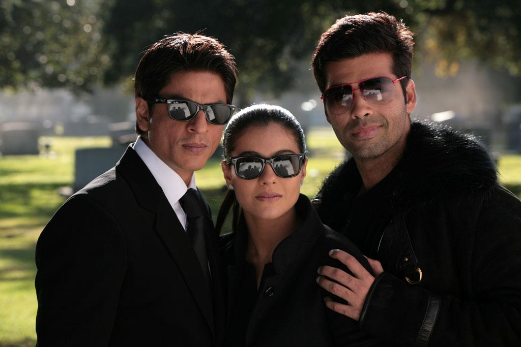"""<a href=""""http://movies.yahoo.com/movie/contributor/1800355741"""">Shah Rukh Khan</a>, <a href=""""http://movies.yahoo.com/movie/contributor/1804383426"""">Kajol</a> and director <a href=""""http://movies.yahoo.com/movie/contributor/1808938943"""">Karan Johar</a> on the set of Fox Searchlight's <a href=""""http://movies.yahoo.com/movie/1810083316/info"""">My Name is Khan</a> - 2010"""