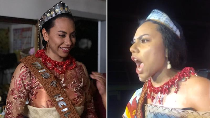 Kalo Funganitao, the 2018 winner of the Miss Heilala beauty pageant.