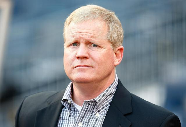 "<a class=""link rapid-noclick-resp"" href=""/mlb/teams/pittsburgh/"" data-ylk=""slk:Pirates"">Pirates</a> GM Neal Huntington has been fired by team owner Bob Nutting. (Photo by Jared Wickerham/Getty Images)"