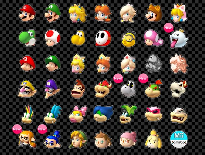 Nintendo Highlights The New Characters And Items In Mario Kart 8