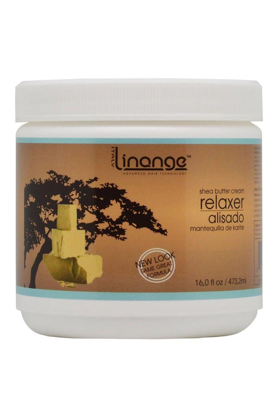"""<p><strong>LINANGE</strong></p><p>amazon.com</p><p><strong>$16.02</strong></p><p><a href=""""https://www.amazon.com/dp/B01BHAQRD0?tag=syn-yahoo-20&ascsubtag=%5Bartid%7C10049.g.33368236%5Bsrc%7Cyahoo-us"""" rel=""""nofollow noopener"""" target=""""_blank"""" data-ylk=""""slk:Shop Now"""" class=""""link rapid-noclick-resp"""">Shop Now</a></p><p>Instead of leaving your hair flat, limp, and brittle, this hair relaxer <strong>loosens up your texture without taking away any <a href=""""https://www.cosmopolitan.com/style-beauty/beauty/advice/g2769/volume-hair-products/"""" rel=""""nofollow noopener"""" target=""""_blank"""" data-ylk=""""slk:volume"""" class=""""link rapid-noclick-resp"""">volume</a> or fullness.</strong> The formula (which is also full of shea butter and coconut oil—sensing a trend?) will make your hair so silky, bouncy, and full of body, you'll basically belong in a hair commercial.</p>"""