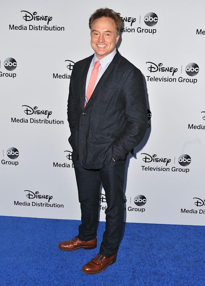 BURBANK, CA - MAY 19:  Actor Bradley Whitford arrives at the Disney Media Networks International Upfronts at Walt Disney Studios on May 19, 2013 in Burbank, California.  (Photo by Angela Weiss/Getty Images)
