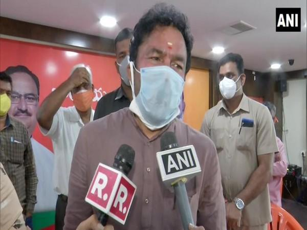 The Union Minister of State for Home Affairs G Kishan Reddy (Photo/ANI)